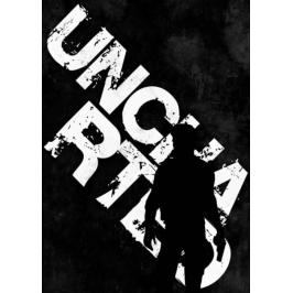 Typography Stencils - Uncharted - plakat Fototapety