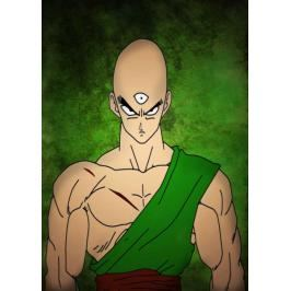 Dragon Ball - Tien - plakat