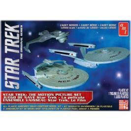 Model Plastikowy Do Sklejania AMT (USA) - Zestaw 3-w-1 Star Trek Cadet Series The Motion Picture