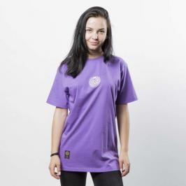 Koszulka damska Mass Denim Base SL Print T-shirt WMNS purple LIMITED EDITION - purple