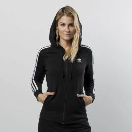 Bluza damska Adidas Originals 3 Stripes Zip Hoodie black