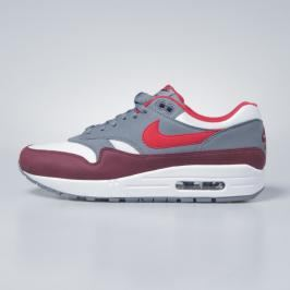 Buty Nike Air Max 1 white / university red - cool grey AH8145-100